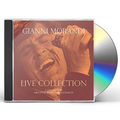 Gianni Morandi CONCERTO LIVE AT RSI (7 LUGLIO 1983) - CD+DVD DIGI CD