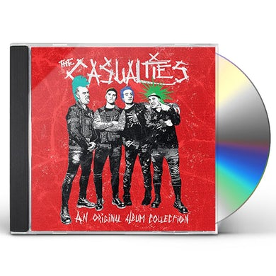 The Casualties ORIGINAL ALBUM COLLECTION CD