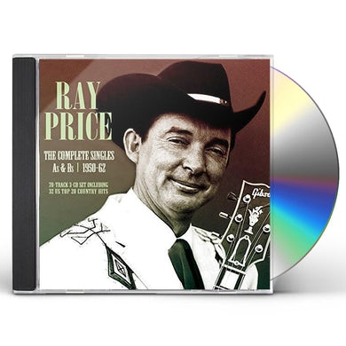 Ray Price COMPLETE SINGLES AS & BS 1950-62 CD