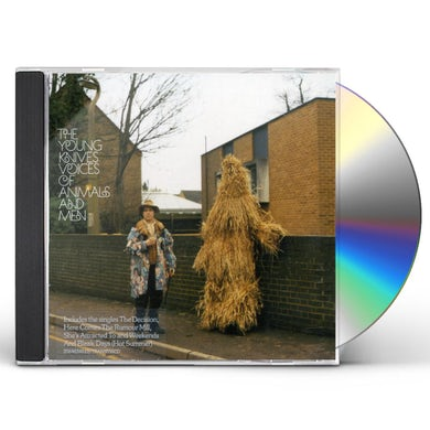 Young Knives VOICES OF ANIMALS & MEN CD