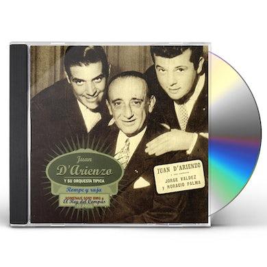 Juan d'Arienzo ROMPE Y RAJA CD