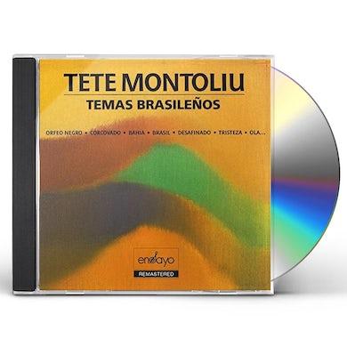 Tete Montoliu TEMAS BRASILEROS CD