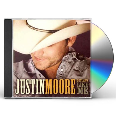 Justin Moore OUTLAWS LIKE ME CD