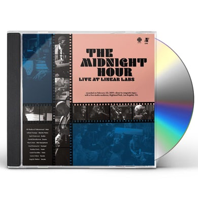 Adrian Younge Midnight Hour Live At Linear Labs CD
