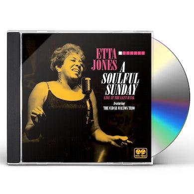 Etta Jones SOULFUL SUNDAY: LIVE AT THE LEFT BANK CD