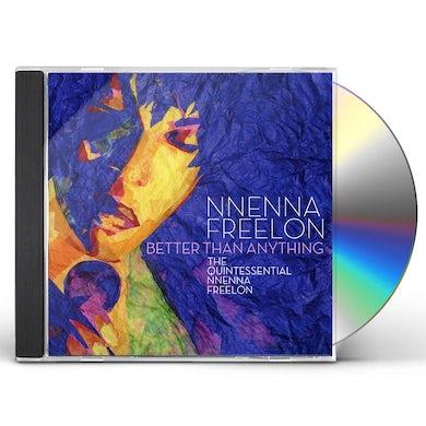 Nnenna Freelon BETTER THAN ANYTHING CD