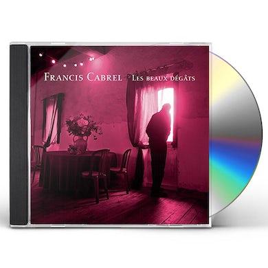 Francis Cabrel LES BEAUX DEGATS CD