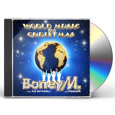 Boney M WORLD MUSIC FOR CHRISTMAS CD
