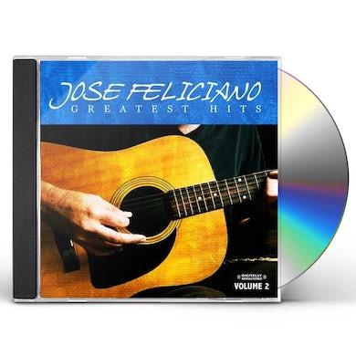 Jose Feliciano GREATEST HITS VOL. 2 CD