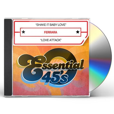 Ferrara SHAKE IT BABY LOVE / LOVE ATTACK CD