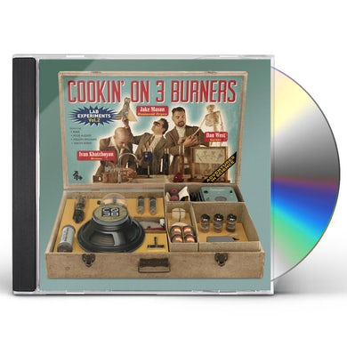 Cookin' on 3 Burners LAB EXPERIMENTS VOL. 2 CD