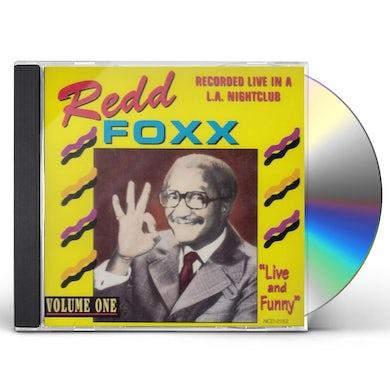 Redd Foxx LIVE & FUNNY 1 CD