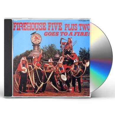 Firehouse Five Plus Two GOES TO A FIRE CD