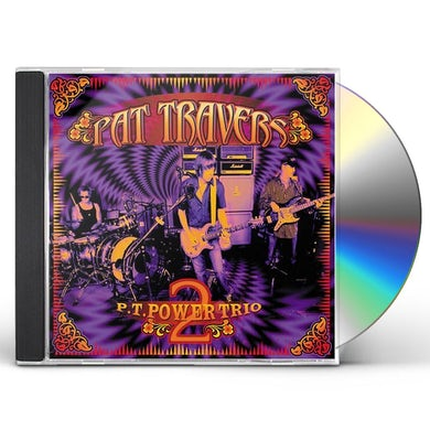 Pat Travers PT POWER TRIO 2 CD