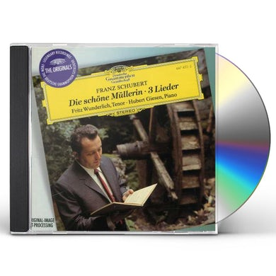 SCHUBERT / WUNDERLICH / GIESEN DIE SCHONE MULLERIN / LIEDER (3) CD