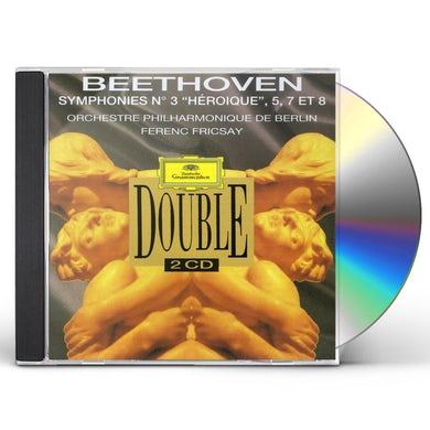 Ferenc Fricsay BEETHOVEN: SYMPHONIES N 3 'HEROIQUE CD