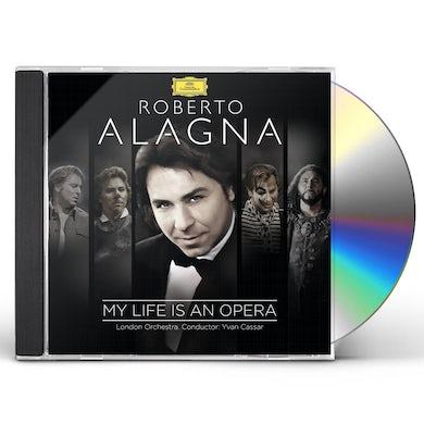 Roberto Alagna MY LIFE IS AN OPERA CD