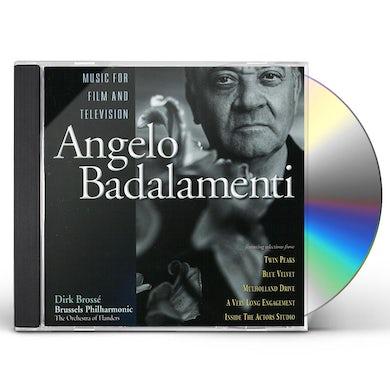 Angelo Badalamenti MUSIC FOR FILM & TELEVISION CD