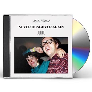 Joyce Manor NEVER HUNGOVER AGAIN CD