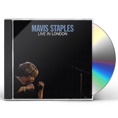 Mavis Staples LIVE IN LONDON CD