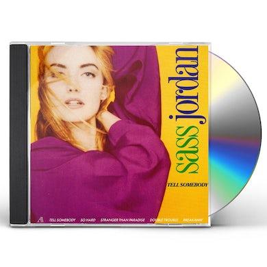Sass Jordan TELL SOMEBODY CD