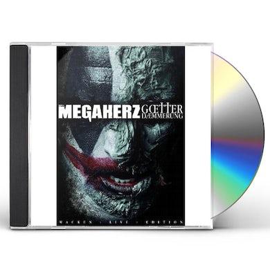 Megaherz GOTTERDAMMERUNG: LIVE AT WACKEN 2012 CD