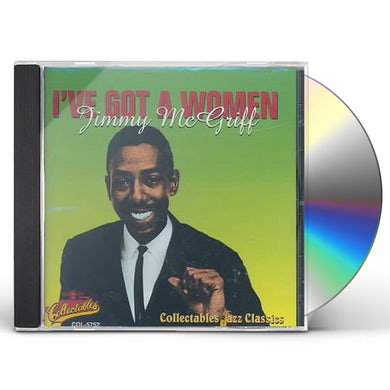 Jimmy Mcgriff I'VE GOT A WOMAN CD