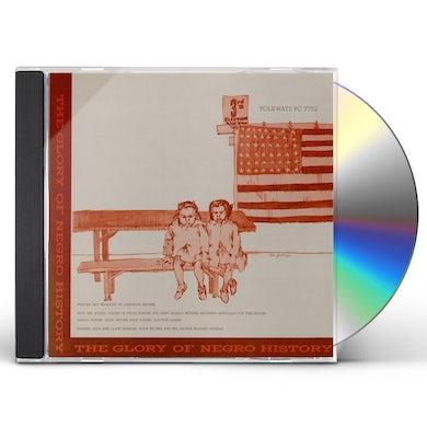 Langston Hughes THE GLORY OF NEGRO HISTORY CD