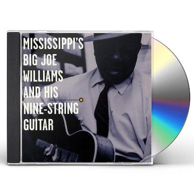 Big Joe Williams & HIS NINE STRING GUITAR CD