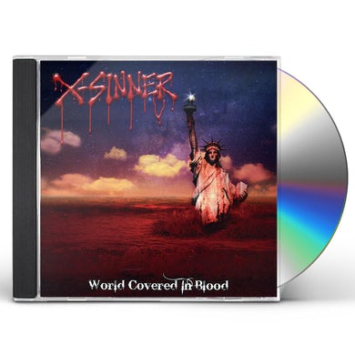 X-Sinner WORLD COVERED IN BLOOD CD