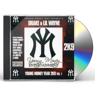 Drake / Lil Wayne YOUNG MONEY 2K9 CD