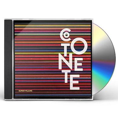 Cotonete SUPER-VILAINS CD