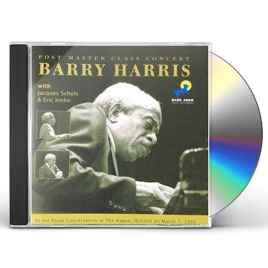 Barry Harris POST MASTER CLASS CONCERT CD