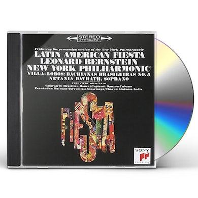 Leonard Bernstein LATIN AMERICAN FIESTA CD
