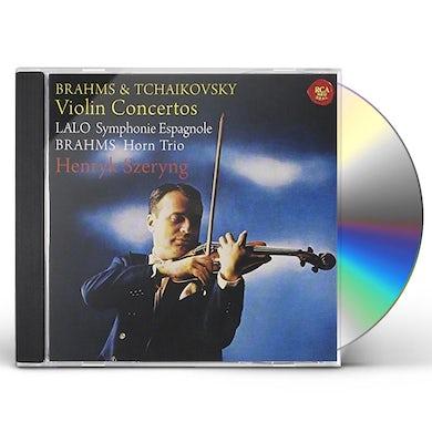 Henryk Szeryng BRAHMS & TCHAIKOVSKY: VIOLIN CONCERT CD