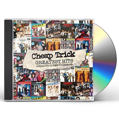 Cheap Trick JAPANESE SINGLES COLLECTION: GREATEST HITS CD