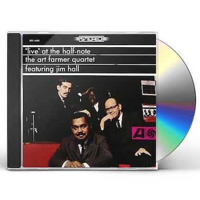 Art Farmer LIVE AT THE HALF-NOTE CD