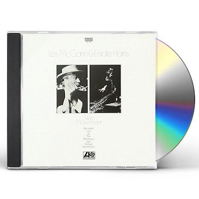 Les Mccann SWISS MOVEMENT CD
