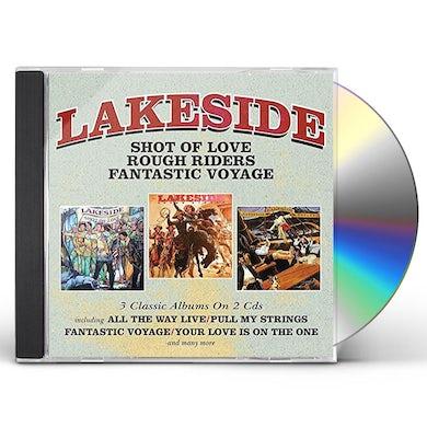 Lakeside SHOT OF LOVE / ROUGH RIDERS / FANTASTIC VOYAGE CD