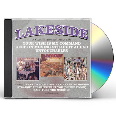 Lakeside YOUR WISH IS MY COMMAND / KEEP ON MOVING STRAIGHT CD