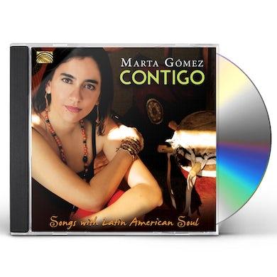 Marta Gomez CONTIGO-SONGS WITH LATIN AMERICAN SOUL CD