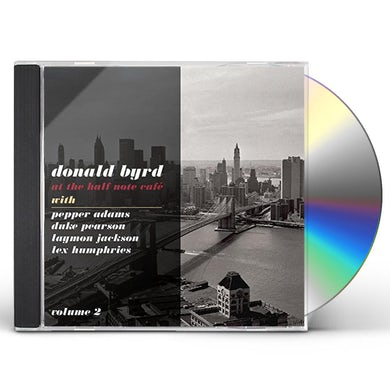 Donald Byrd AT THE HALF NOTE CAFE 2 CD