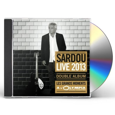 Michel sardou GRANDES MOMENTS LIVE CD