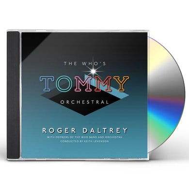 Roger Daltrey WHO'S TOMMY CLASSICAL CD