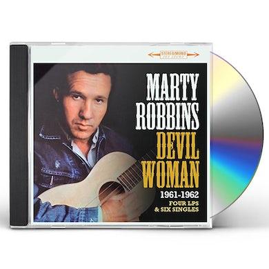 Marty Robbins DEVIL WOMAN: FOUR LPS & SIX SINGLES 1961-1962 CD