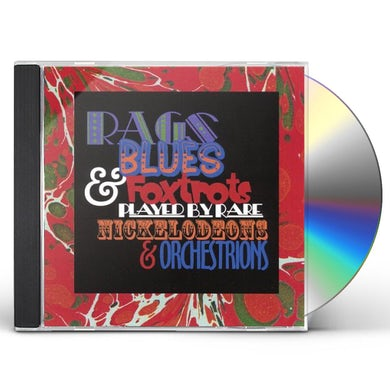 Veronica RAGS BLUES & FOXTROTS PLAYED BY RARE NICKELODEONS CD