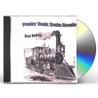 Jon Sarta HONKY TONK TRAIN BOOGIE CD