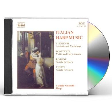 Claudia Antonelli ITALIAN HARP MUSIC CD