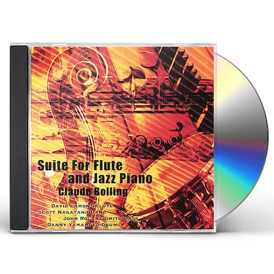 David Lamont SUITE FOR FLUTE & JAZZ PIANO BY CLAUDE BOLLING CD