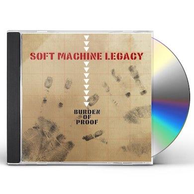 Soft Machine Legacy BURDEN OF PROOF CD